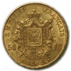 50 Francs NAPOLÉON III 1866 A PARIS (2), TTB, lartdesgents.fr