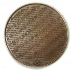 Médaille Napoléon Ier Bonaparte,Texte écrit sur le BELLEROPHON 1840 par rogat