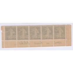 Bande publicitaire 5 timbres biscuit olibet cote 530 Euros l'art des gents 2