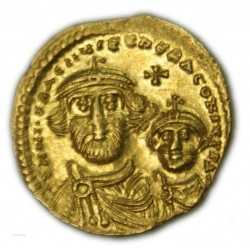 Byzantine - Solidus de HERACLIUS, 610-641 AP.  J.C. SUPERBE, lartdesgents.fr
