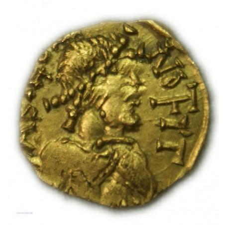 Méroviengien - Chalon sur Saône (Cabilonnum) - Triens or du VIIème siècle