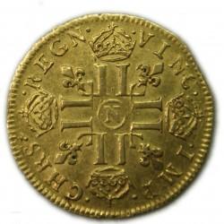 Royale France - Louis d'or, Louis XIV 1653 N Montpellier TTB+ R4