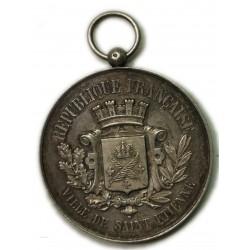 Médaille de concours de Gymnastique - Rhône, Saint Etienne 1890