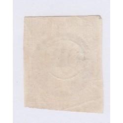 Timbre N°13A,  10 c. Bistre oblitération OR dans cercle , cote 80 Euros l'art des gents