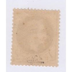 Timbre N°27A, 4 c. gris Type I bronze aout 1863 Neuf signé  l'art des gents a