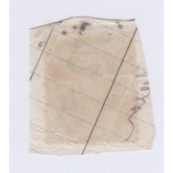Timbre N°29B, 20 c. bleu Type II à la corne, aout 1868 Neuf signé lartdesgents.fr