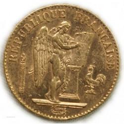III° REPUBLIQUE GÉNIE - 20 Francs 1888 RARE, lartdesgents.fr