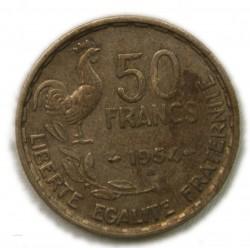 50 FRANCS 1954 B Guiraud - Beaumont-Le-Roger TTB, lartdesgents.fr