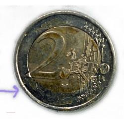France Fauté 2€ 2009 - coeur avers et revers plus et moins large RARE, lartdesgents.fr