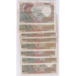 SULLY - lot de 7 Billets , lartdesgents.fr