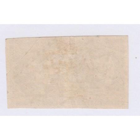 Paire N°43A , 10c. bistre report 1, nov 1870 Oblitéré  cote 220 Euros lartdesgents.fr