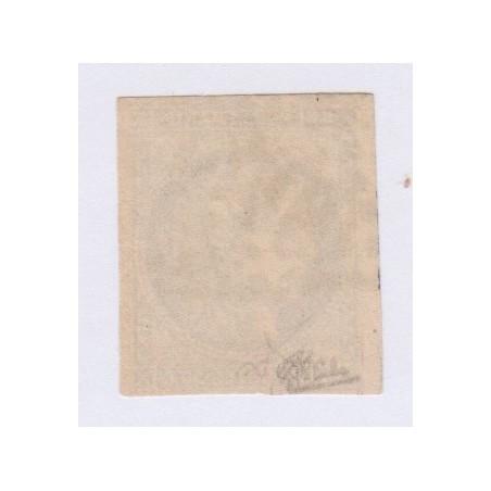 N°47, 30 c. brun noir, déc 1870, oblitéré signé cote 1300 Euros  lartdesgents.fr