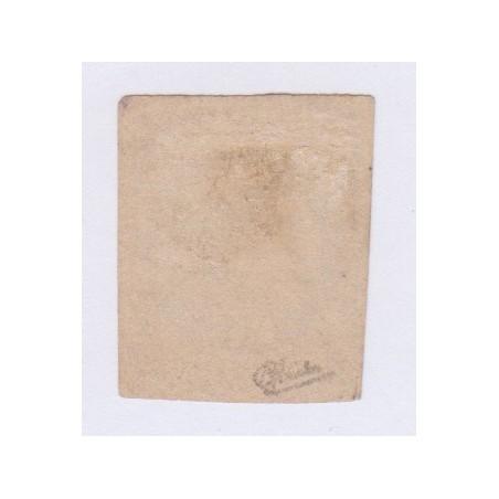 N°47a, 30 c. brun clair report 1, déc 1870, oblitéré signé cote 300 Euros  lartdesgents.fr