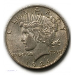 USA - One Dollar Liberty 1924 (2), lartdesgents.fr
