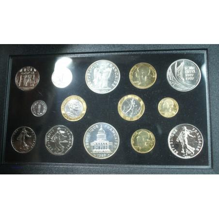 Fleur De Coins FDC, 1989 14 pièces dont la Montesquieu, lartdesgents.fr