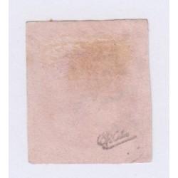 N°49, 80 c. rose, déc 1870, oblitéré signé cote 350 Euros  lartdesgents.