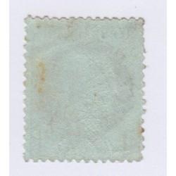 N°50, 1 c. vert-olive, nov 1872, neuf* cote 100 Euros  lartdesgents.fr