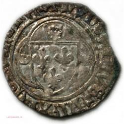 Louis XII, grand blanc à la couronne,TB+ Angers Point 7ème,25-04-1498 lartdesgents.fr