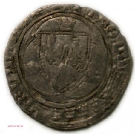 CHARLES VIII, grand blanc à la couronne, Atelier indéterminé