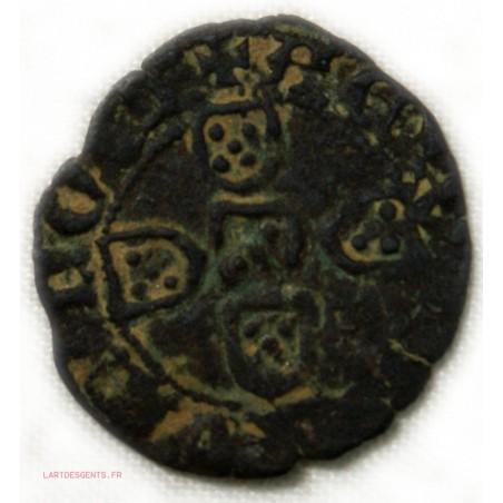 PORTUGAL - JEAN Ier 1415-1433 - 1/2Réal Branco TB lartdesgents.fr