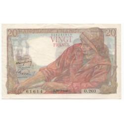 20 Francs Pêcheur 10/03/49 (20F023)L'ART DES GENTS