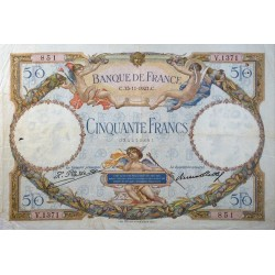 50 Francs Luc Olivier Merson 15/11/27 (50F027)