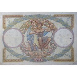 50 Francs Luc Olivier Merson 15-11-1927  TTB  Fayette 15.1