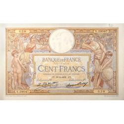 100 Francs Luc Olivier Merson 19-02-1931 SUP Fayette 24.10