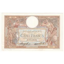 100 Francs Luc Olivier Merson 30-03-1933 SUP  Fayette 24.12