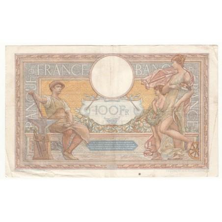 100 Francs Luc Olivier Merson 04-01-1934  Fayette 24.13