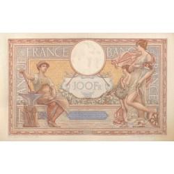 100 Francs Luc Olivier Merson 31-05-1934 SUP Fayette 24.13