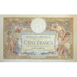 100 Francs Luc Olivier Merson 29-10-1936 TTB+ Fayette 24.15