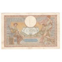 100 Francs Luc Olivier Merson 02/12/37 (100F080)