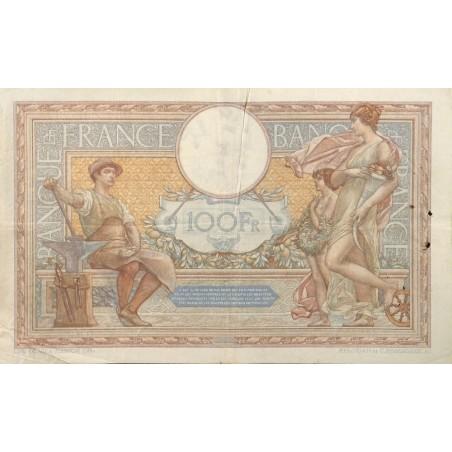 100 Francs Luc Olivier Merson 17-02-1938 TTB-  Fayette 25.11