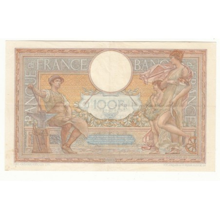 100 Francs Luc Olivier Merson 06-04-1939 TTB+ Fayette 25.45