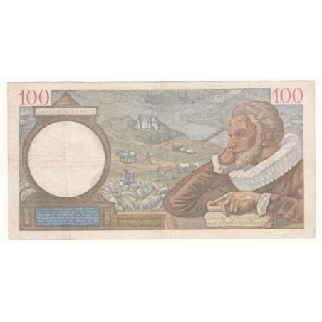 100 Francs Sully 21-12-1939 TTB+ Fayette 26-18