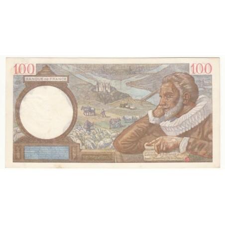 100 Francs Sully 02-04-1942  SPL+  Fayette 26.69