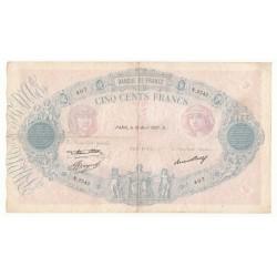 500 Francs Bleu et Rose 15/04/37 (500F010)