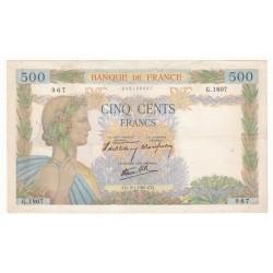 500 Francs La Paix 09/01/41 (500F016)