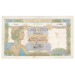 500 Francs La Paix 09/01/41 (500F017)