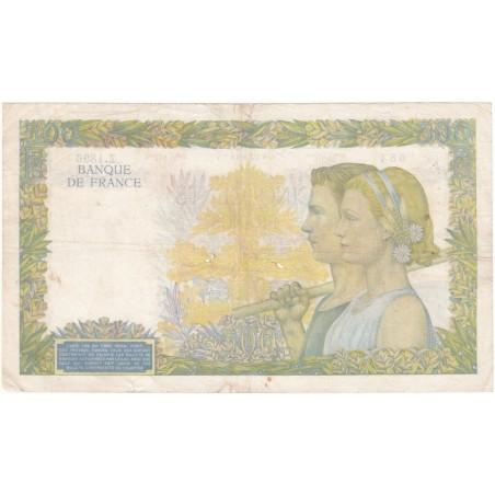 500 Francs La Paix 09/01/41 Fayette 32.12