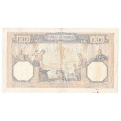 1000 Francs Cérès et Mercure 18/07/40 (1000F028)