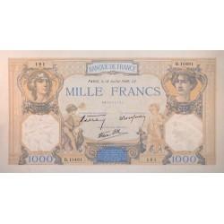 1000 Francs Cers et Mercure 18/07/40 (1000F029)