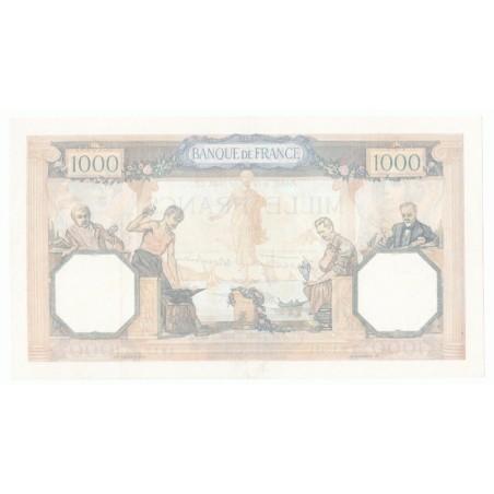 1000 Francs Cérès et Mercure 18-07-40 TTB+  Fayette 38.50