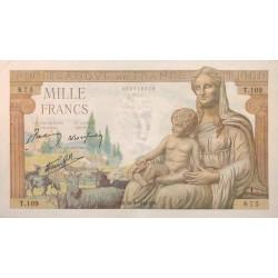 1000 Francs Déesse Déméter 28/05/42 (1000F039)