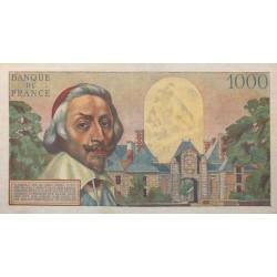 1000 Francs Richelieu 01-07-1954 SUP Fayette 42.6