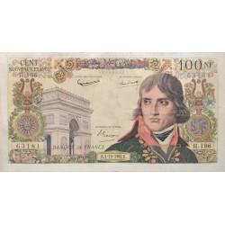 100 nouveaux Francs Bonaparte 04/10/62 (100F164)