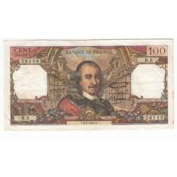 100 Francs Corneille 02-04-1964 TTB Fayette 65.1