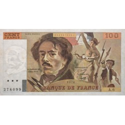 100 Francs Delacroix 1978 (100F186)