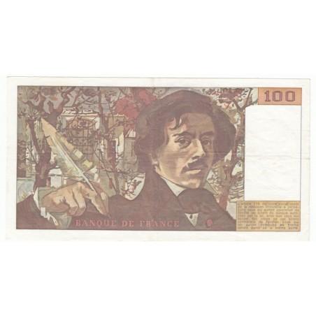 100 Francs Delacroix 1978 SUP  ALPH. A.6